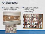 art upgrades