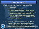 faa 2013 forecast