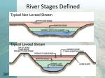 river stages defined