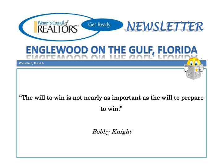 the will to win is not nearly as important as the will to prepare to win bobby knight