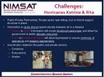 challenges hurricanes katrina rita