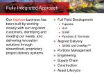 fully integrated approach