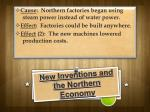 new inventions and the northern economy1