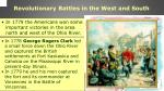 revolutionary battles in the west and south