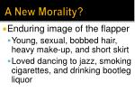 a new morality