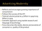 advertising modernity