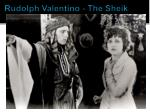 rudolph valentino the sheik