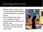sociological surveys