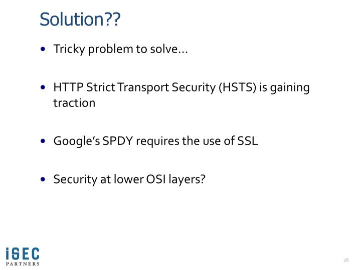 Solution??