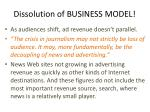 dissolution of business model