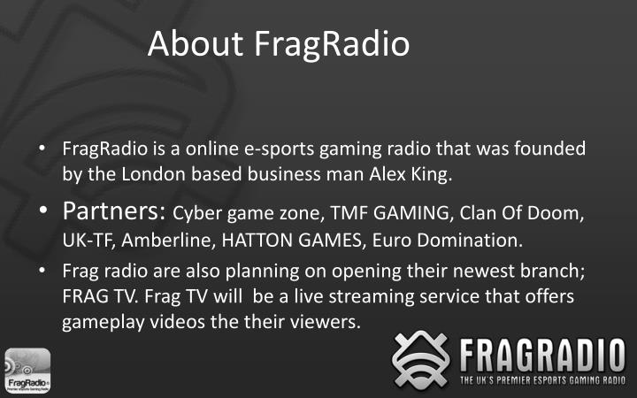 About fragradio