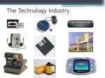 the technology industry