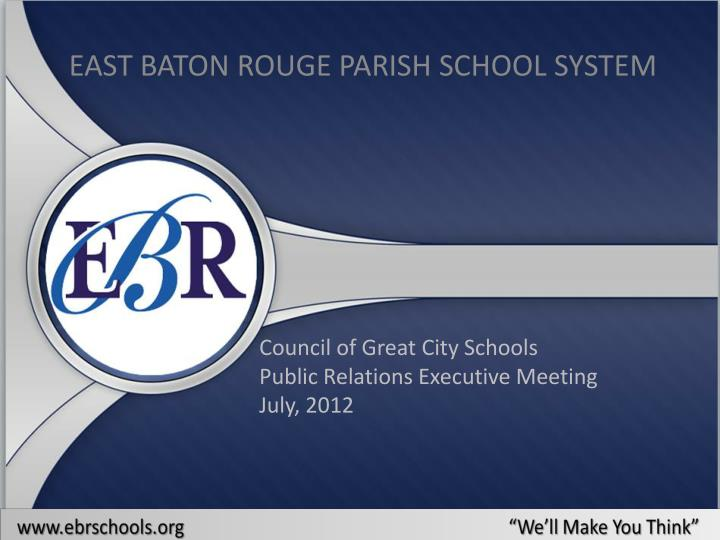 east baton rouge parish school system n.