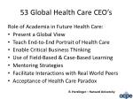 53 global health care ceo s1