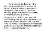 resistance to modernity1