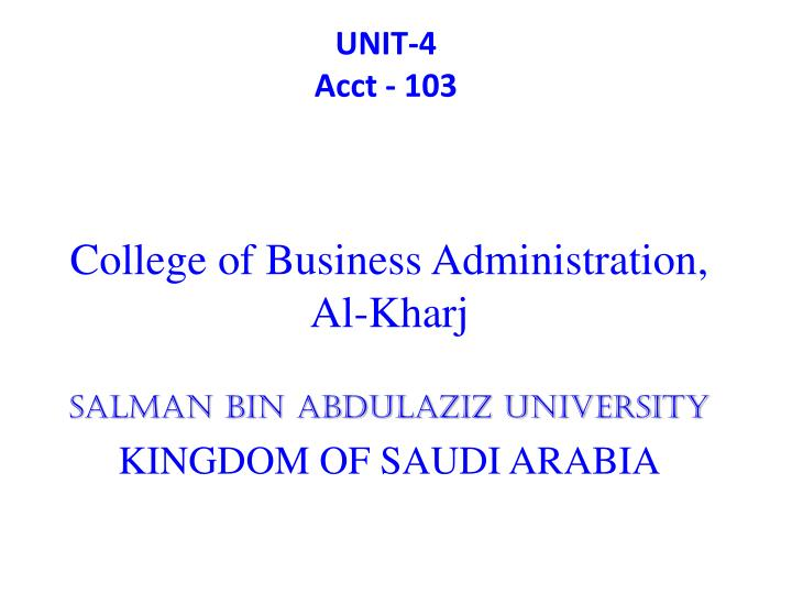 unit 1 business adminstration Entrepreneurship and small business management chapter 1: studies by the small business administration report that home unit 1.