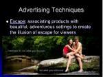 advertising techniques1