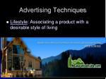 advertising techniques2