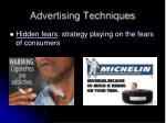 advertising techniques6