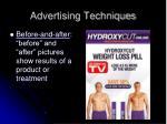 advertising techniques7