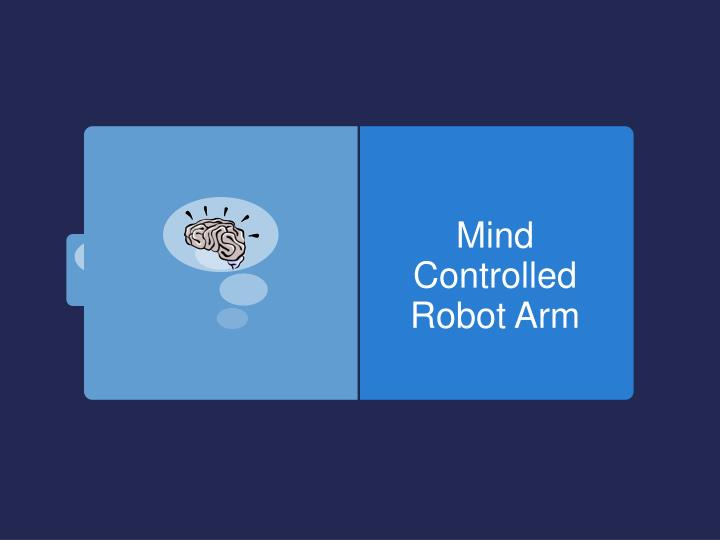 mind controlled robot arm n.