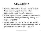 adcom role 2