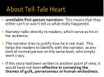 about tell tale heart