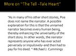 more on the tell tale heart