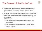 the causes of the flash crash
