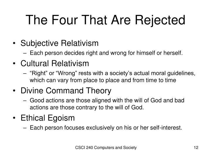 ethical egoism pros and cons