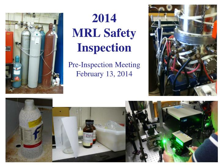 2014 mrl safety inspection n.