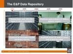 the e p data repository1