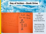 day of action book drive