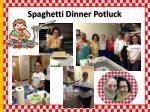 spaghetti dinner potluck