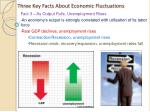 three key facts about economic fluctuations1