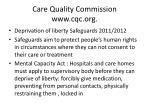care quality commission www cqc org