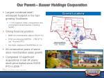 our parent susser holdings corporation