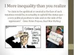 i more inequality than you realize