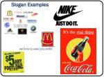slogan examples