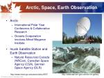 arctic space earth observation