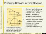 predicting changes in total revenue2