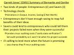 garrett jones gmu summary of bernanke and gertler