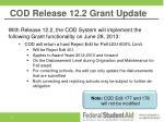 cod release 12 2 grant update
