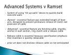 advanced systems v ramset