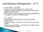 c ontributory infringement s1171