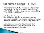 not human beings s18 2