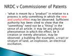 nrdc v commissioner of patents1