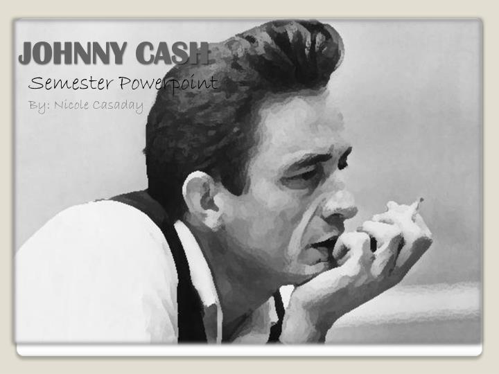 johnny cash n.