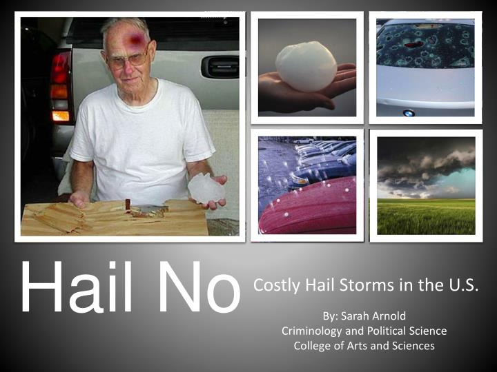 costly hail storms in the u s n.