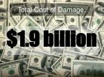 total cost of damage1
